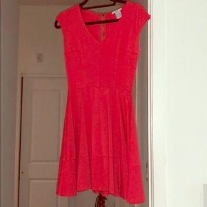 Beautiful Coral bar iii dress size M